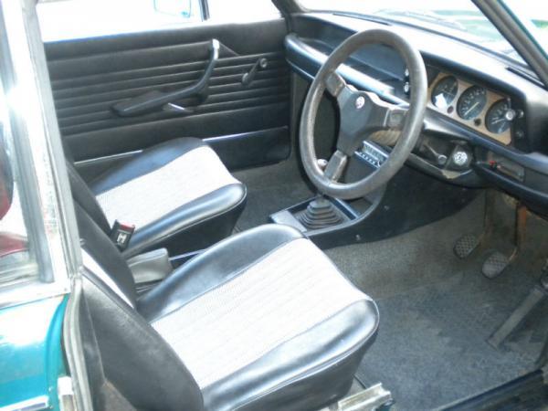 1975 Bmw 2002 Tii Baur Targa Interior