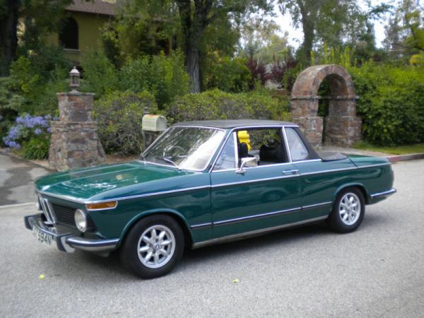 sale retailer a9563 4ce8d Summer Fun: 1975 BMW 2002 Baur Targa