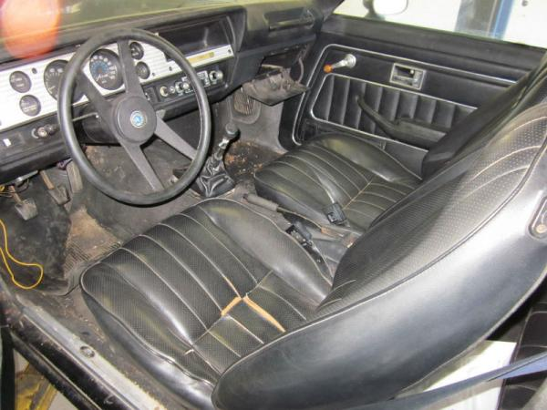 1975 Cosworth Vega Barn Find Interior