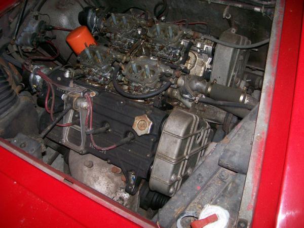 1975 Ferrari 308 Gt4 Dino Garage Find Engine