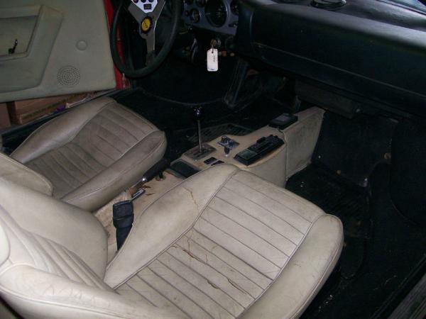 1975 Ferrari 308 Gt4 Dino Garage Find Interior