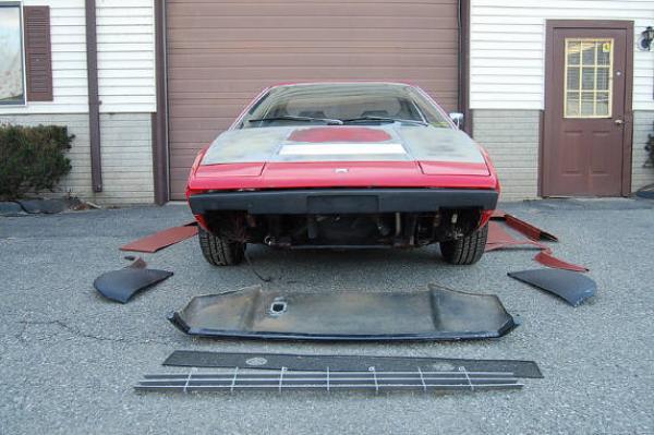 1975 Ferrari 308 Gt4 Front