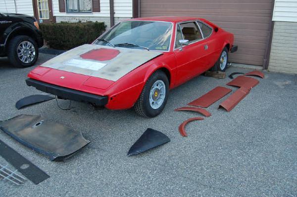 1975 Ferrari 308 Gt4 Front Corner
