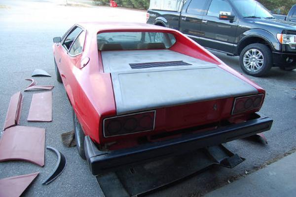 1975 Ferrari 308 Gt4 Rear Corner
