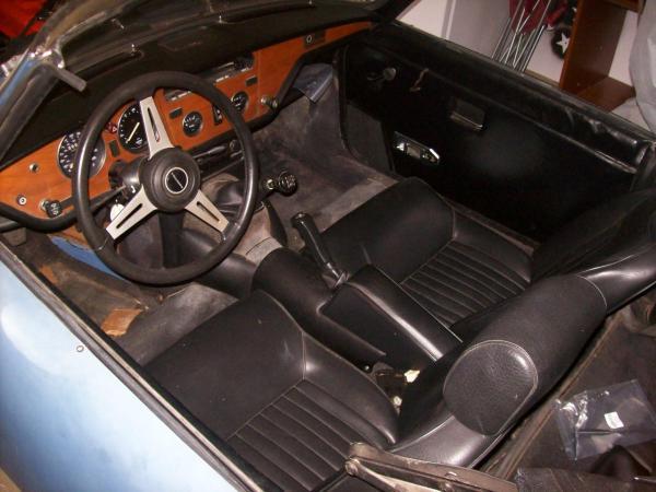 1975 Triumph Spitfire Interior