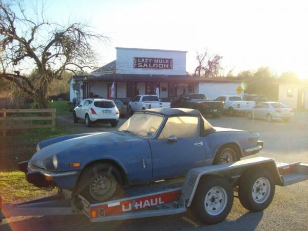 1975 Triumph Spitfire Side View