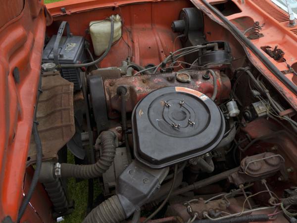 1976 Chevrolet Vega Nomad Engine