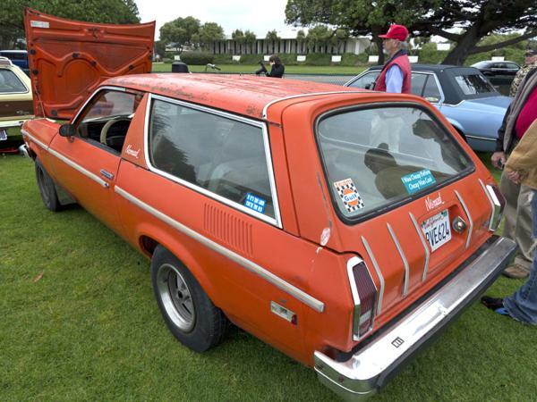 1976 Chevrolet Vega Nomad Rear Corner