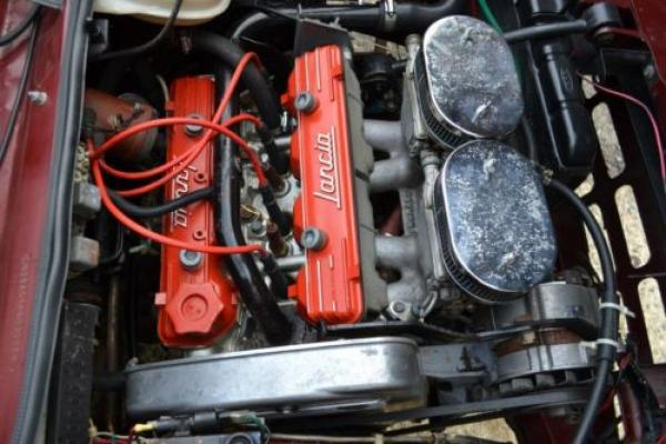 1976 Lancia Beta Coupe Engine