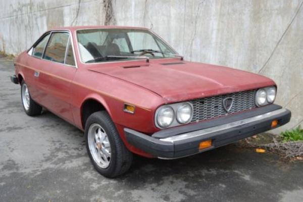 1976 Lancia Beta Coupe Front Corner