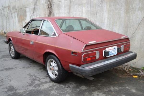 1976 Lancia Beta Coupe Rear Corner
