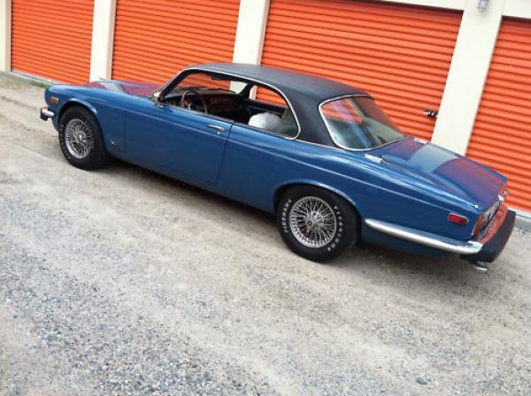 1977 Jaguar Xj6c Side