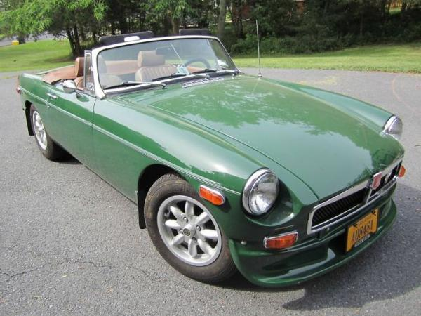 1978 Mgb Front