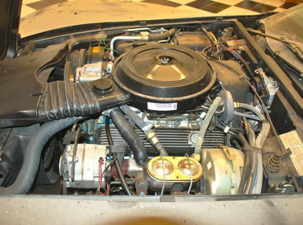 1978 Corvette Indy Pace Car Engine