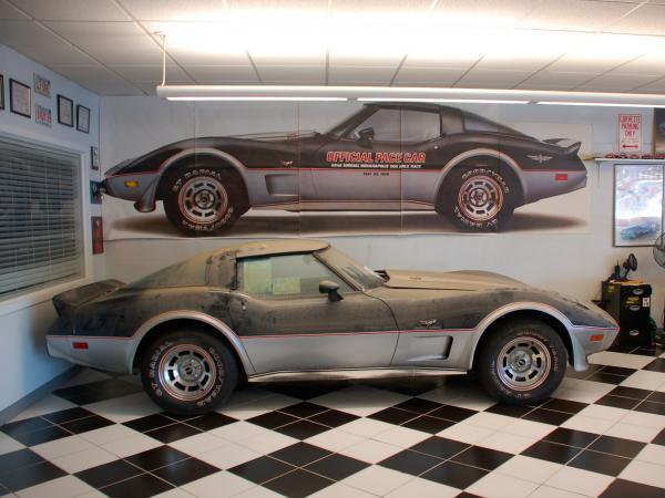 1978 Corvette Indy Pace Car Side