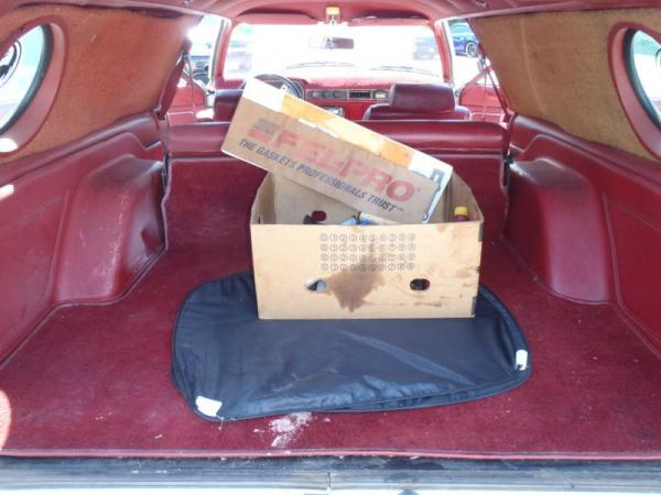 1979 Ford Pinto Cruising Wagon Storage