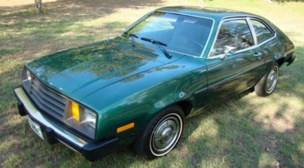 1979 Ford Pinto Front Corner