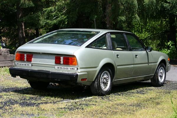 1980 Rover 3500 Sd1 Rear