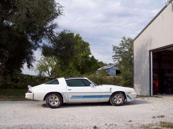 1980 Chevrolet Camaro Z28 Side