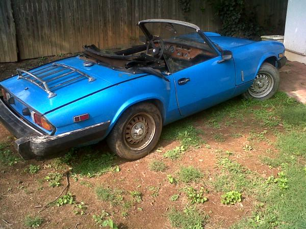 1980 Triumph Spitfire Cleaned Up