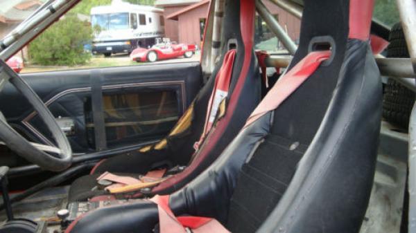 1982 Amc Sx 4 Rally Car Seats