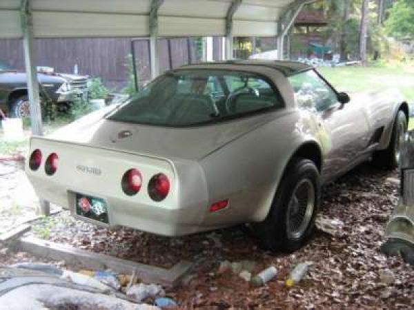 1982 Corvette Carport Find Rear