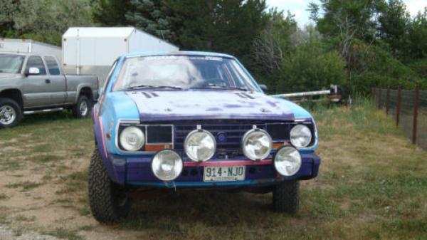 1982 Amc Sx4 Rally Car Front