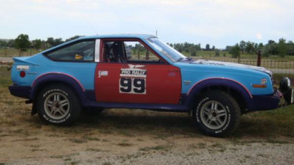 1982 Amc Sx4 Rally Car Side