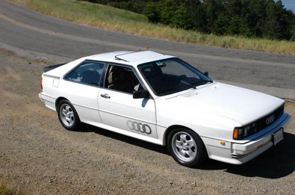 1983 Audi Ur Quattro Front Corner