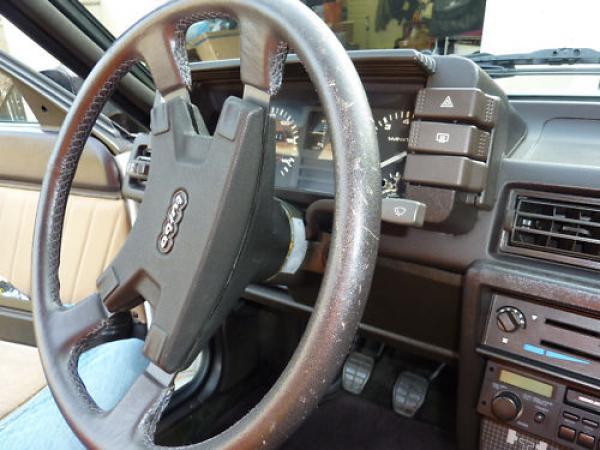 1983 Audi Ur Quattro Interior