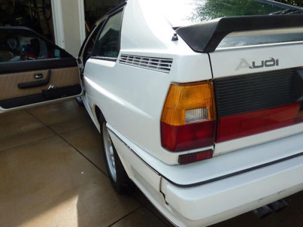 1983 Audi Ur Quattro Rear Corner