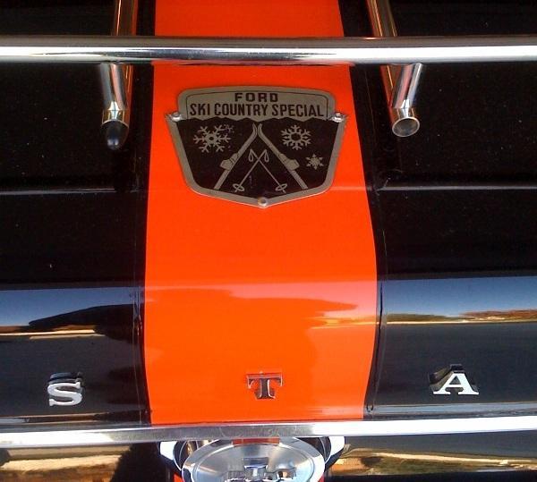 67 Ski Country Special Emblem
