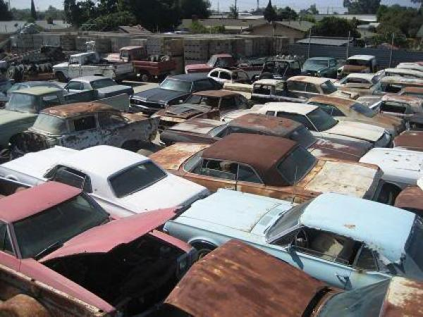 Chula Vista Salvage Yard American Cars