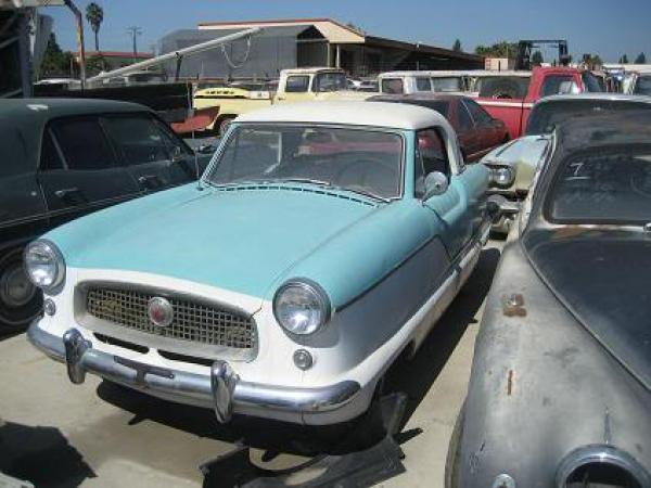 Chula Vista Salvage Yard Nash