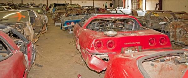 Corvette Salvage Auction