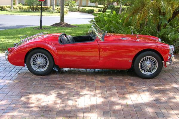 Judson Supercharged 1956 Mga Roadster