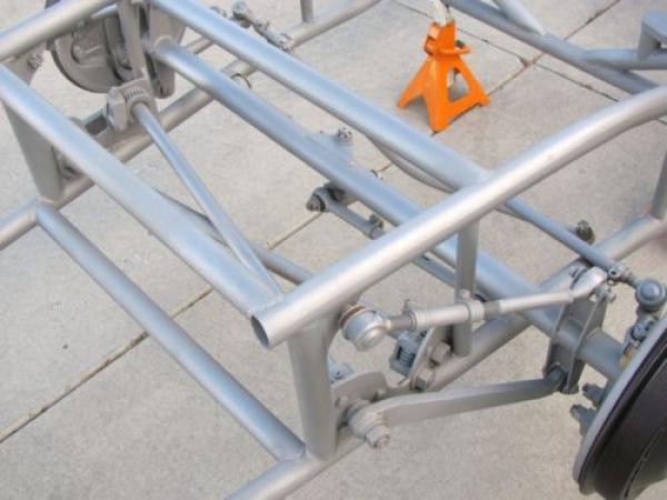 Kurtis Kraft Torsion Bar Suspension