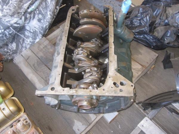 Lincoln Capri Project Engine