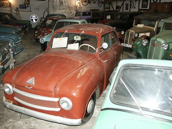 Microcar Barn Find In Germany