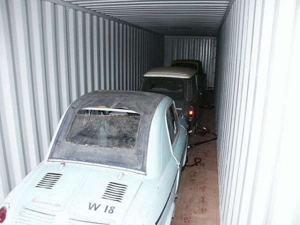 Microcar Barn Find In Germany Cars In Container