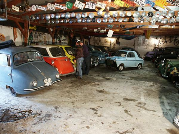 Microcar Barn Find In Germany Main Barn