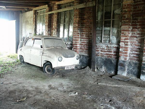 Microcar Barn Find In Germany One Car Alone
