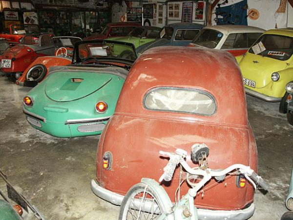 Microcar Barn Find In Germany Row Of Cars