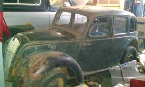 Morris Eight Series E Project