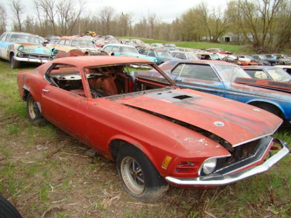 Classic Mustang Salvage Cars
