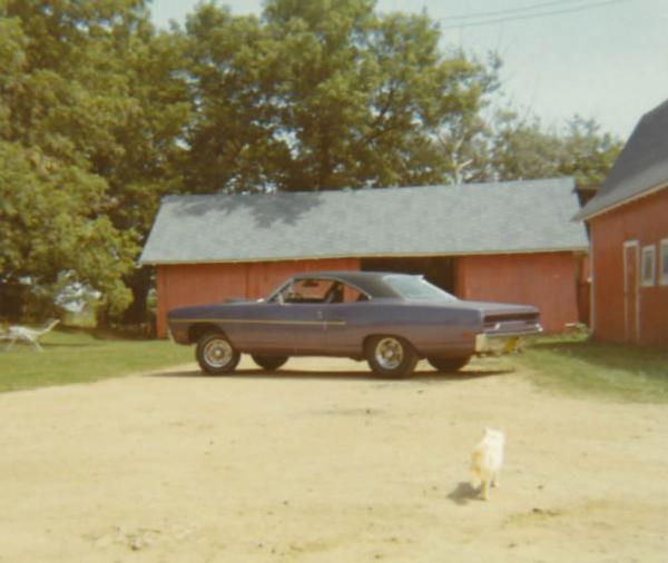 Old Photo Of 1970 Plymouth Roadrunner