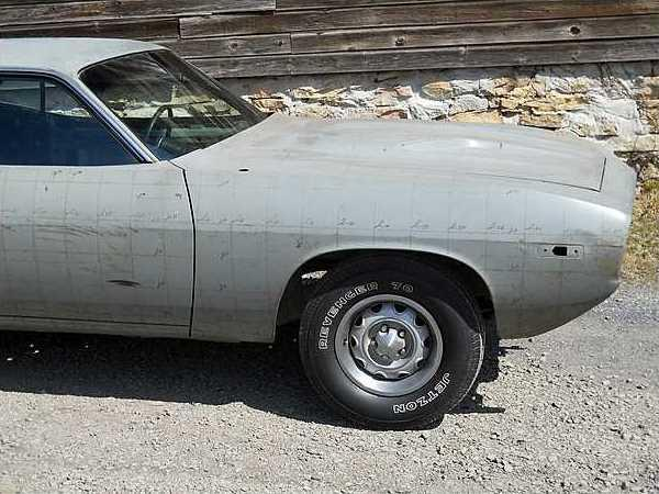 One Of None 1974 Cuda Fender