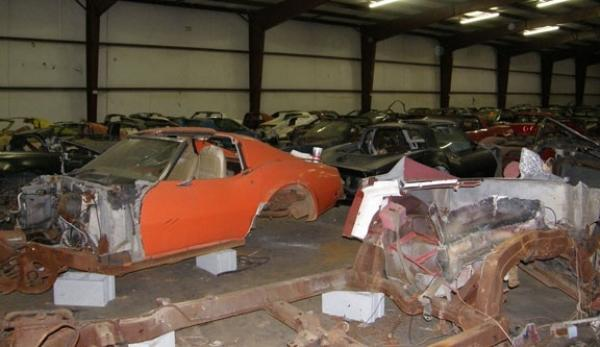 Salvage Corvette Auction
