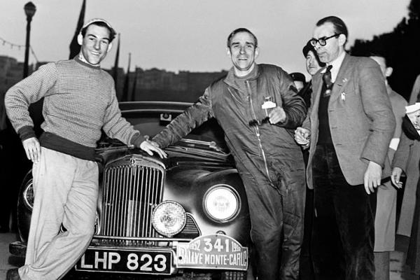Stirling Moss 1952 Monte Carlo Rally