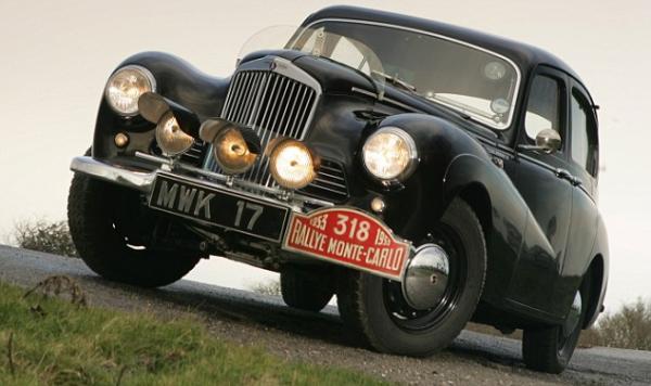 Sunbeam Talbot 90 1953 Monte Carlo Rally